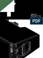 Dbaudio Manual y8 y12 1.2 Es