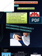 Documentos comerciales y financieros