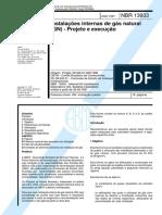 NBR13933_1997 - Instalações Internas de Gás Natural (GN) -