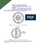 Synchronous Generator Working Principle