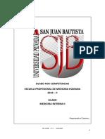 Silabo Medicina Interna II 2019-Ii_20190802184926