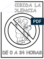 NO a la violencia