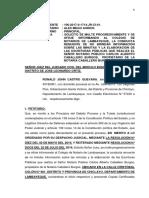 Escrito Solicitando Multa Progresiva Al Notario 106-17.