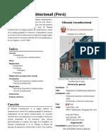 Tribunal Constitucional(Perú)
