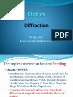 01 Optics Part III Diffraction dhk se ajwjejjseh