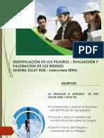 1- 2 Identificación de Peligros - Trabajadores