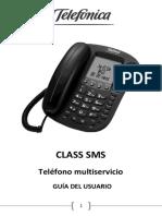Manual Telefono Class Sms de telefonica