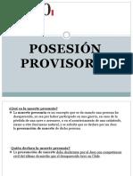 Posesion Provisoria Civil