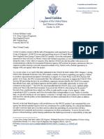 Golden CMP Letter