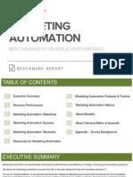 Marketing Automation Benchmark Report