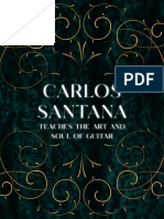 Carlos Santana Art Of Guitar