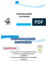 Operatoria Dental - Preparaciones Cavitarias