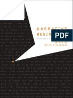 (Frontiers of Narrative) Richardson, Brian-Narrative Beginnings _ Theories and Practices-University of Nebraska Press (2008)