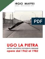 UGO LA PIETRA. Catalogo Delle Opere 1962-1982