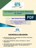 Tratamiento de Las Aguas Residuales en Tacna