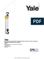 Yale Polipasto Manual VS051 OIM&M