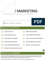 Mobile Marketing Benchmark Report