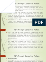 Prompt corrective action taken by RBI