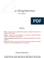 Simple Lifting Machines My PPT