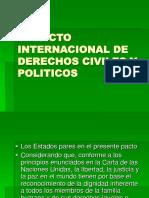 El Pacto Internacional de Derechos Civiles y Politicos