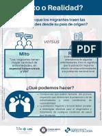 Mitos vs Realidad Migrantes