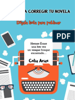 Aprende a corregir tu novela