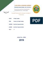 Glosario de Peritaje Contable 2019