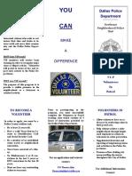 VIP Brochure