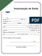 Autorização de Saída-1
