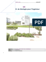 Cours Geologie
