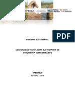 Cartilha das Tecnologias Sustentáveis  de Convivência com o Semiárido .
