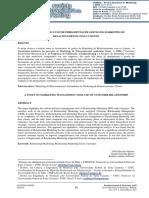 Um estudo sobre o uso de ferramentas de gestão do Marketing de Relacionamento com o cliente (2015)