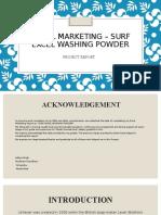 Rural Marketing- surf excel