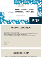 Rural Marketing- surf excel