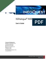 Iqdialogue Asm 4.0 User's Guide - Sug-diaasm-007