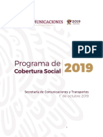 Programa de Cobertura Social 2019