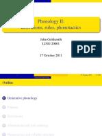 2011 Generative Phonology