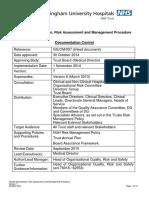 Ggcm007 Hazard Identification Risk Assessment and Managment Process
