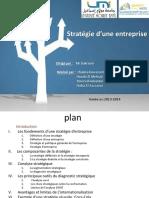 Strategie de l Entreprise