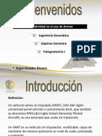 legislación de drones en méxico