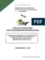 Cas 003-Drtc Octubre Transportes y Comunicaciones