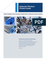 Donaldson - Hydraulic Filtration Product Guide