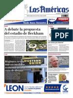 DIARIO LAS AMÉRICAS Edición digital del miércoles 16 de octubre de 2019