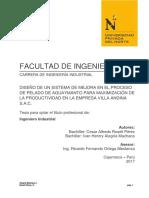 Rosell Pérez Cesar Alfredo, Alegría Machaca Ivan Henrry