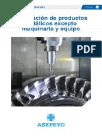 R1E17048 Guía Fabricación de Productos Metálicos Excepto Maquinaria y Equipo Asepeyo