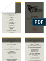 Program for 2019 Convention 1