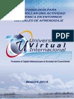 Metodologia Desarrollo ctividades Academicas en Entornos Virtuales