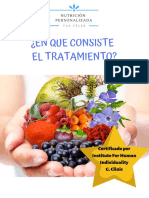 TRATAMIENTO PAZ VÉLEZ NUTRICION PERSONALIZADA
