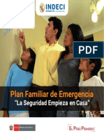 Indeci-Plan Familiar de Emergencia