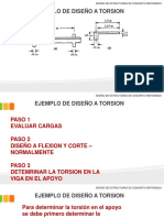 Ejemplo de Diseño a Torsión